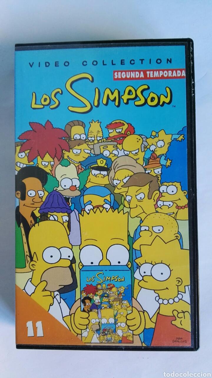 LOS SIMPSON SEGUNDA TEMPORADA N° 11 VHS (Series TV en VHS )