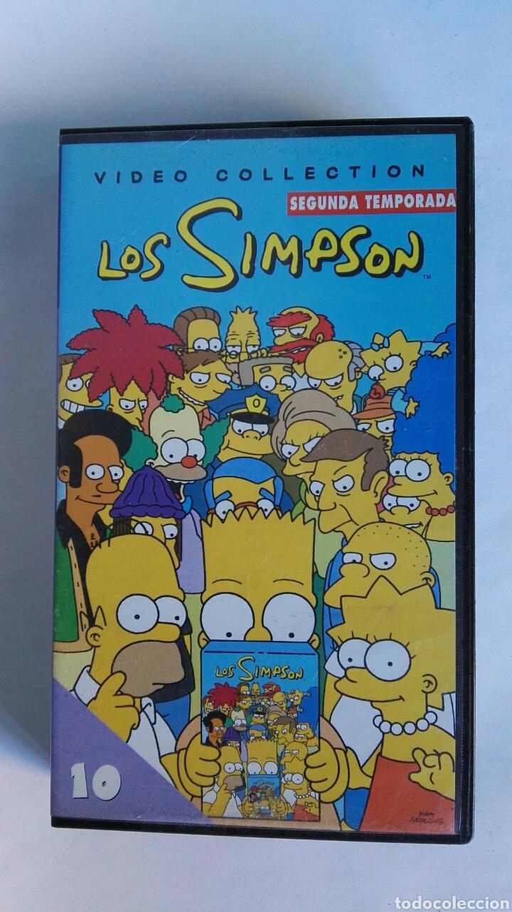 LOS SIMPSON SEGUNDA TEMPORADA N° 10 (Series TV en VHS )