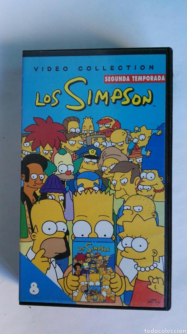 LOS SIMPSON SEGUNDA TEMPORADA N° 8 VHS (Series TV en VHS )