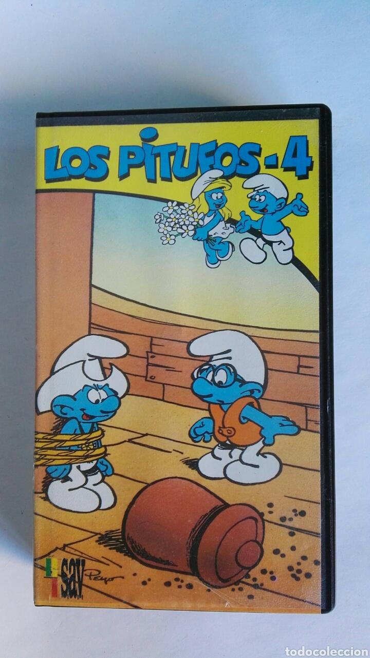 LOS PITUFOS N° 4 VHS (Series TV en VHS )