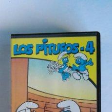Series de TV: LOS PITUFOS N° 4 VHS. Lote 115985743