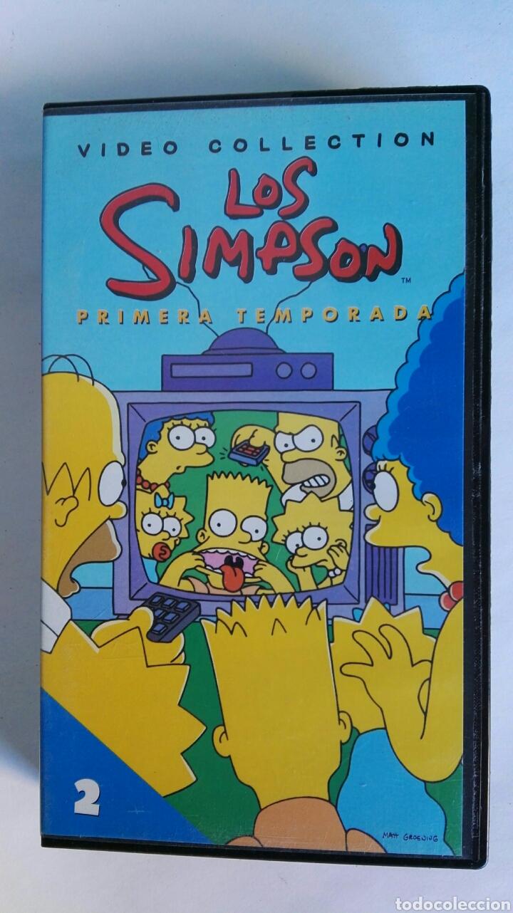 LOS SIMPSON PRIMERA TEMPORADA N° 2 VHS (Series TV en VHS )