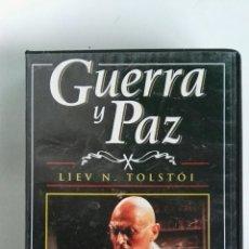 Series de TV: GUERRA Y PAZ N° 8 LIEV N. TOLSTOI ANTHONY HOPKINS 1998 VHS. Lote 116073134