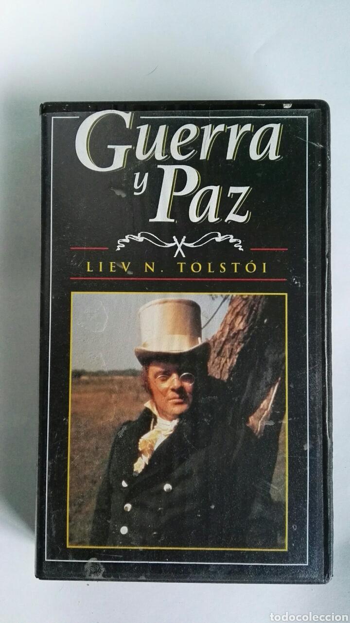 GUERRA Y PAZ N° 1 LIEV N. TOLSTOI ANTHONY HOPKINS 1998 VHS (Series TV en VHS )