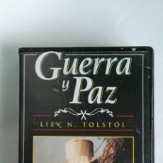 Series de TV: GUERRA Y PAZ N° 1 LIEV N. TOLSTOI ANTHONY HOPKINS 1998 VHS. Lote 194742195