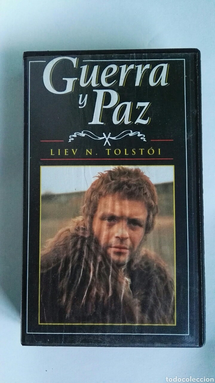 GUERRA Y PAZ N° 12 LIEV N. TOLSTOI ANTHONY HOPKINS 1998 VHS (Series TV en VHS )