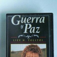 Series de TV: GUERRA Y PAZ N° 12 LIEV N. TOLSTOI ANTHONY HOPKINS 1998 VHS. Lote 116073330