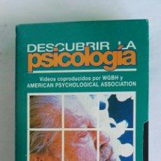 Serie di TV: DESCUBRIR LA PSICOLOGÍA LA MENTE DESPIERTA Y DORMIDA N° 10 VHS. Lote 116158478