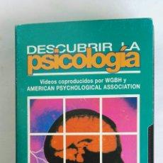 Serie di TV: DESCUBRIR LA PSICOLOGÍA EL CEREBRO SENSIBLE N° 9 VHS. Lote 116158591
