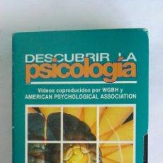 Serie di TV: DESCUBRIR LA PSICOLOGÍA CEREBRO Y COMPORTAMIENTO N° 8 VHS. Lote 116158962