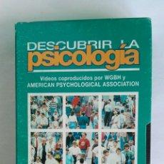 Serie di TV: DESCUBRIR LA PSICOLOGÍA LA CONSTRUCCIÓN DE LA REALIDAD SOCIAL N° 15 VHS. Lote 116160620