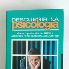 Serie di TV: DESCUBRIR LA PSICOLOGÍA EL YO N° 12 VHS. Lote 116189650