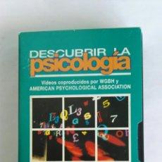 Serie di TV: DESCUBRIR LA PSICOLOGÍA PROCESOS COGNITIVOS N° 5 VHS. Lote 116189787