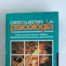 Serie di TV: DESCUBRIR LA PSICOLOGÍA COMPRENSIÓN N° 7 VHS. Lote 116189919