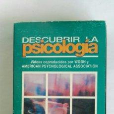 Serie di TV: DESCUBRIR LA PSICOLOGÍA SALUD, MENTE Y COMPORTAMIENTO N° 23 VHS. Lote 116190304