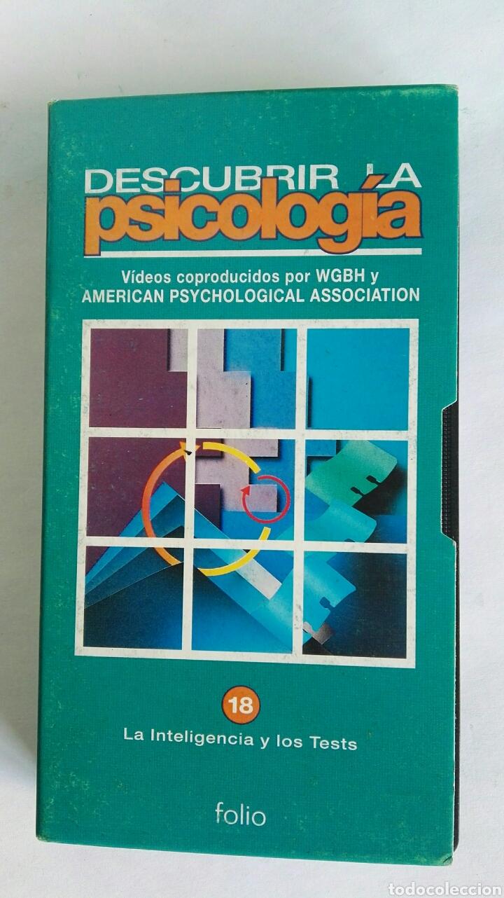 DESCUBRIR LA PSICOLOGÍA LA INTELIGENCIA Y LOS TESTS N° 18 VHS (Series TV en VHS )