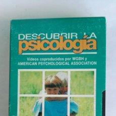 Series de TV: DESCUBRIR LA PSICOLOGÍA EL DESARROLLO INFANTIL N° 16 VHS. Lote 116190902