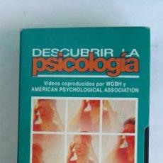 Serie di TV: DESCUBRIR LA PSICOLOGÍA PSICOPATOLOGÍA N° 21 VHS. Lote 116191284