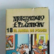 Series de TV: MORTADELO Y FILEMÓN N° 18 EL ANSIA DE PODER VHS. Lote 116404930