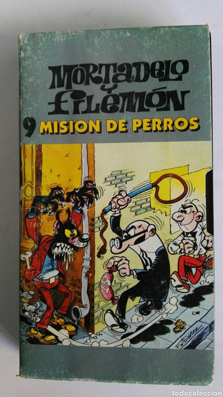 MORTADELO Y FILEMÓN N° 9 MISIÓN DE PERROS VHS (Series TV en VHS )