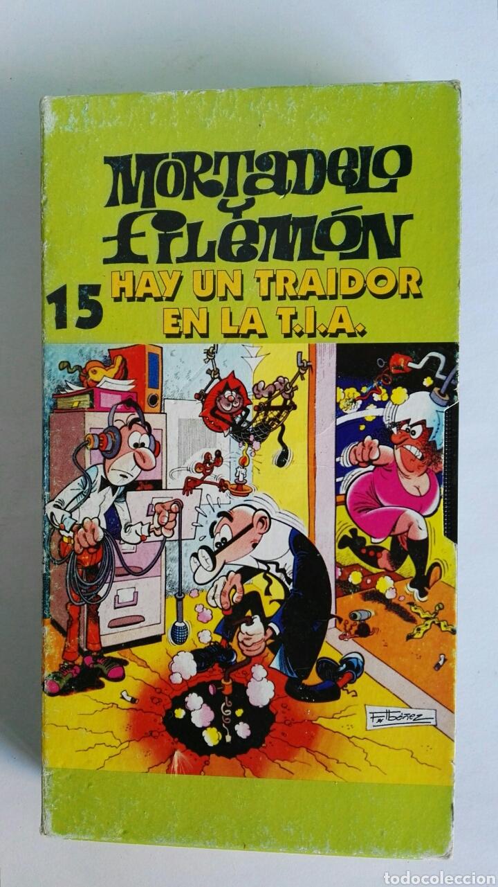 MORTADELO Y FILEMÓN N° 15 HAY UN TRAIDOR EN LA T.I.A. VHS (Series TV en VHS )