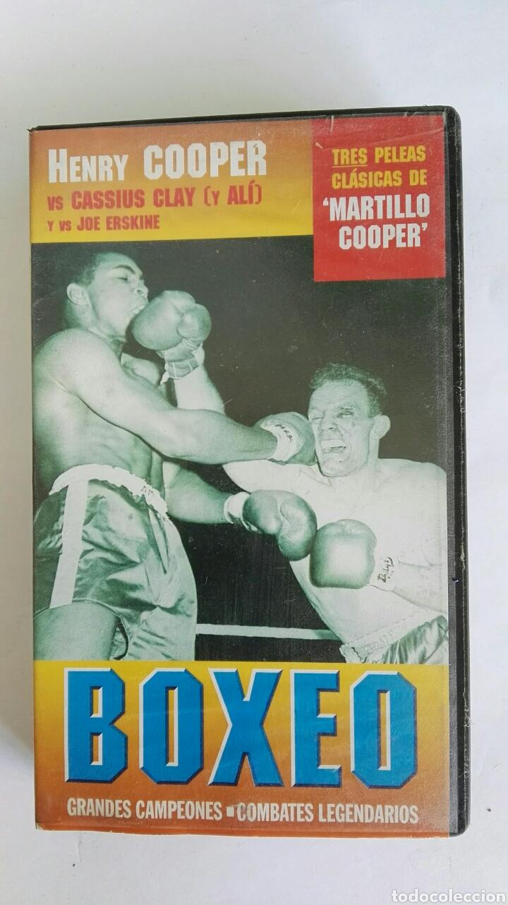 BOXEO HENRY COOPER GRANDES CAMPEONES VHS (Series TV en VHS )