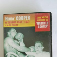 Series de TV: BOXEO HENRY COOPER GRANDES CAMPEONES VHS. Lote 116492866