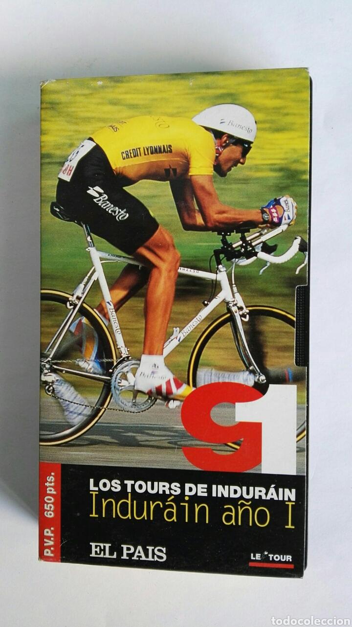 LOS TOURS DE INDURÁIN AÑO I 1991 VHS (Series TV en VHS )