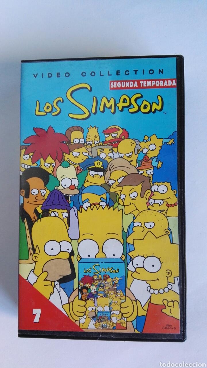 LOS SIMPSON N° 7 SEGUNDA TEMPORADA VHS (Series TV en VHS )