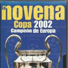 Series de TV: LA NOVENA COPA DE EUROPA DEL REAL MADRID. Lote 116813495