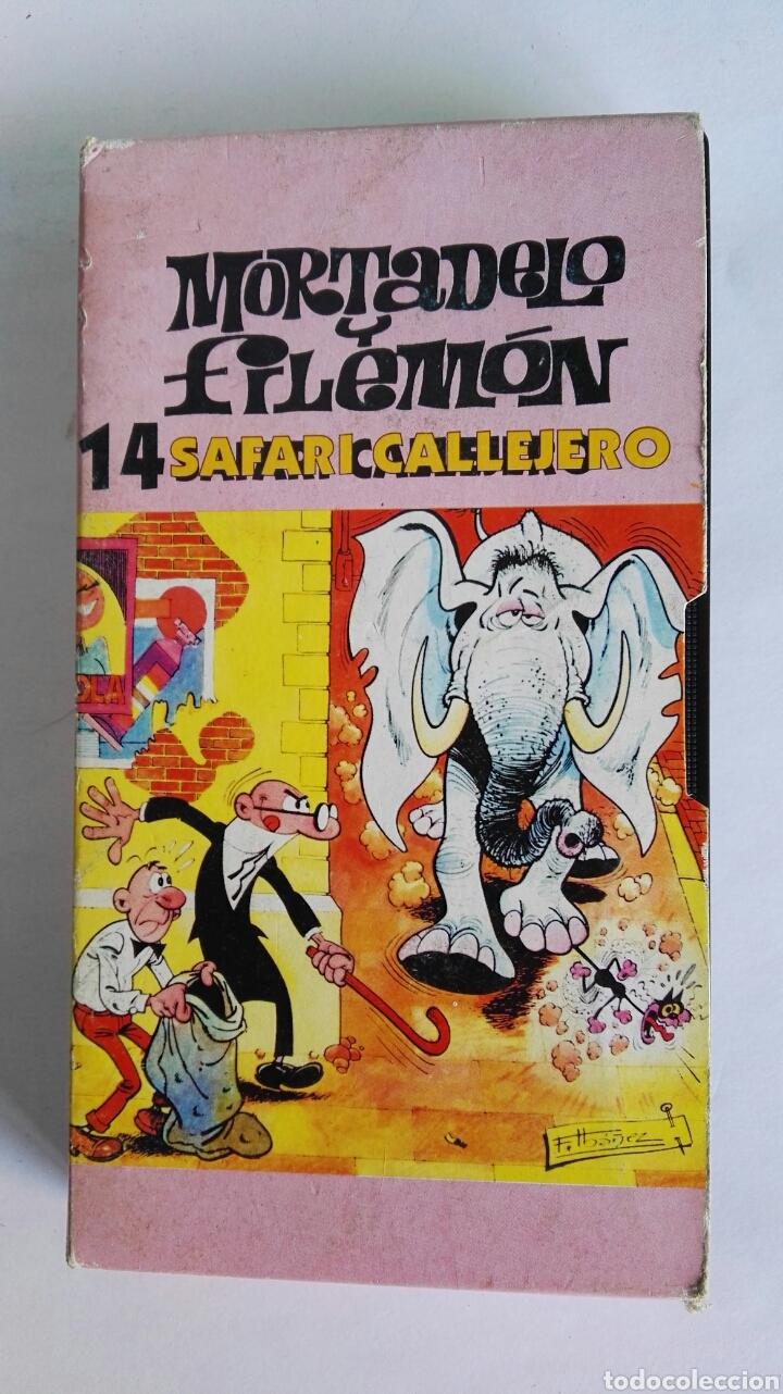 MORTADELO Y FILEMÓN N° 14 SAFARI CALLEJERO (Series TV en VHS )