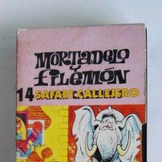 Series de TV: MORTADELO Y FILEMÓN N° 14 SAFARI CALLEJERO. Lote 116875174