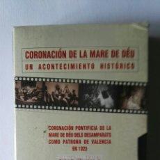 Series de TV: CORONACIÓN DE LA MARE DE DÉU UN ACONTECIMIENTO HISTÓRICO VHS 1923 UN DOCUMENTO ÚNICO. Lote 117864026
