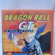 Series de TV: DRAGON BALL GT PRIMERA ÉPOCA VOL. 3 EPISODIOS 7,8 Y 9 VHS. Lote 118498668