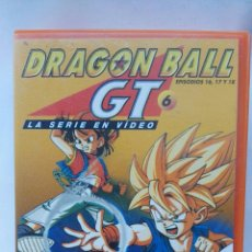 Series de TV: DRAGON BALL GT PRIMERA ÉPOCA VOL. 6 EPISODIOS 16,17 Y 18 VHS. Lote 118498730