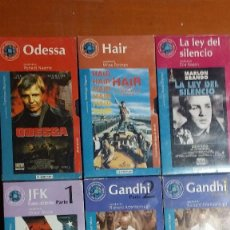Series de TV: ODESSA, HAIR, GANDHI, JFK, LS LEY DEL SILENCIO, LA JAURIA HUMANA,.... Lote 119360955
