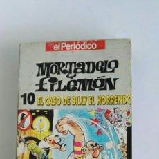 Series de TV: MORTADELO Y FILEMÓN N° 10 EL CASO DE BILLY EL HORRENDO VHS. Lote 119391086