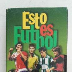 Series de TV: ESTO ES FÚTBOL CREACIÓN DE JUEGO VHS. Lote 120116179
