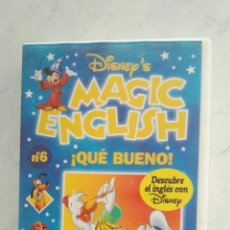 Series de TV: MAGIC ENGLISH N° 6 VHS. Lote 120168703