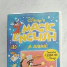 Series de TV: MAGIC ENGLISH N° 10 VHS. Lote 120168927