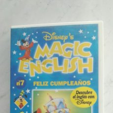 Series de TV: MAGIC ENGLISH N° 7 VHS. Lote 120169003