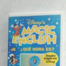 Series de TV: MAGIC ENGLISH N° 8 VHS. Lote 120169084