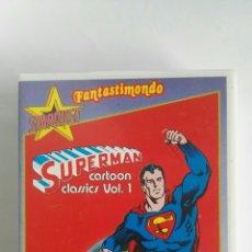 Series de TV: SUPERMAN STARDUST FANTASTIMONDO VHS CAPITULOS AÑOS 60 EN ITALIANO. Lote 120581754