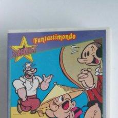 Series de TV: POPEYE STARDUST FANTASTIMONDO VHS CAPITULOS AÑOS 60 EN ITALIANO. Lote 120582102