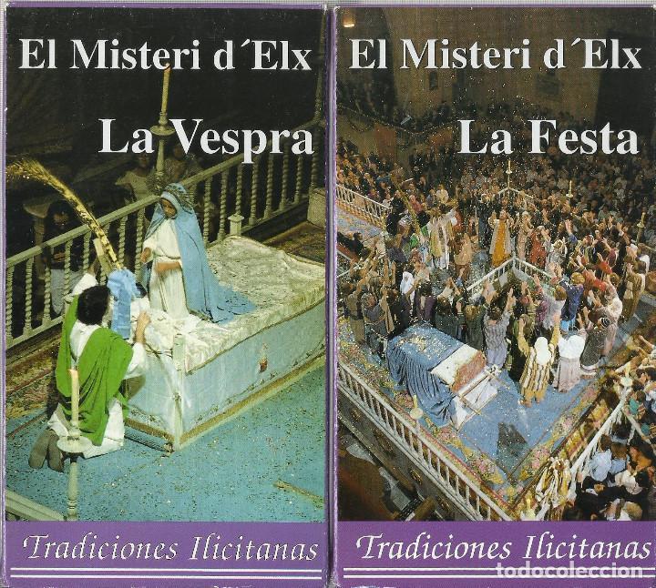 EL MISTERI D´ELX (LA VESPRA Y LA FESTA) (Series TV en VHS )