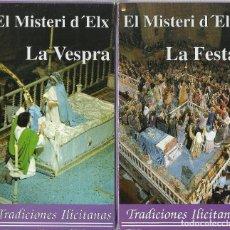 Series de TV: EL MISTERI D´ELX (LA VESPRA Y LA FESTA). Lote 121196943