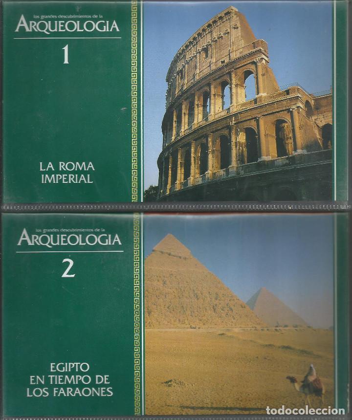 Series de TV: Los Grandes Descubrimientos de la Arqueologia presentado por Omar Sharif - Foto 2 - 121743047