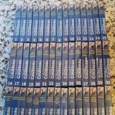 Series de TV: VHS. MUNDO SUBMARINO, JACQUES COUSTEAU. COLECCIÓN COMPLETA, 45 VIDEOS, PRECINTADOS. Lote 122046647