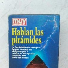 Series de TV: REVISTA MUY INTERESANTE HABLAN LAS PIRÁMIDES VHS. Lote 123327430