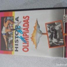 Series de TV: HISTORIA DE LAS OLIMPIADAS. Lote 124007615